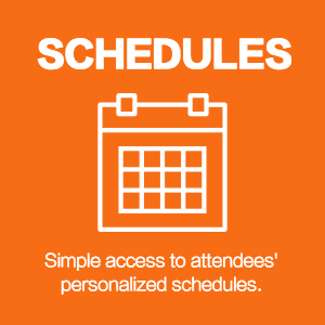 attendee personal schedules