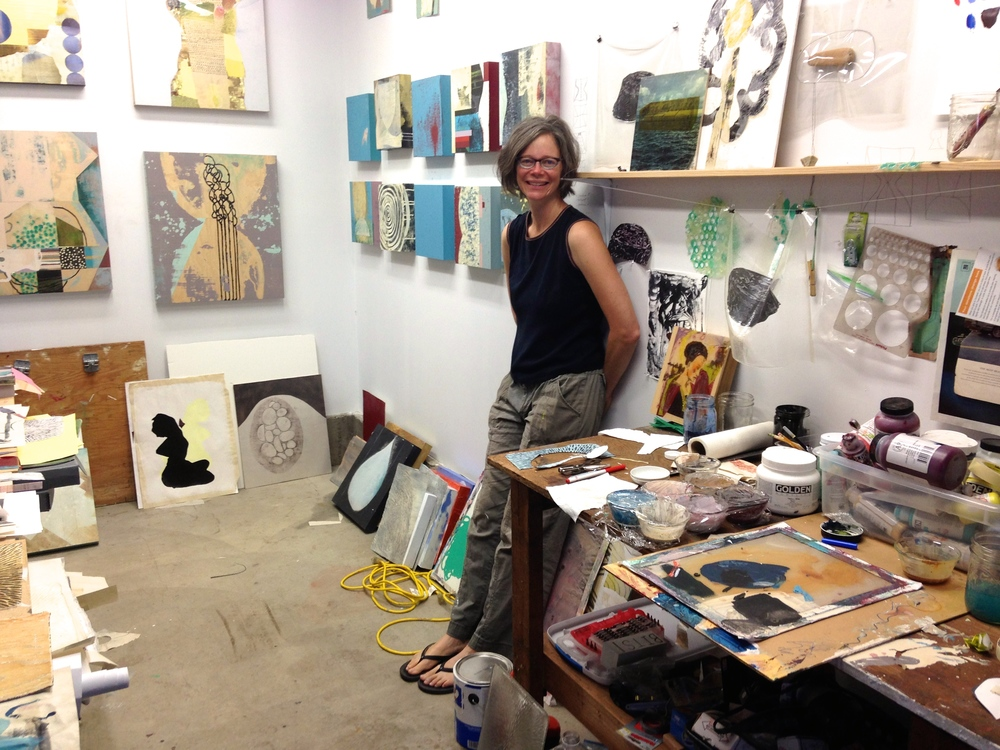 Roberta Aylward, NE Portland studio