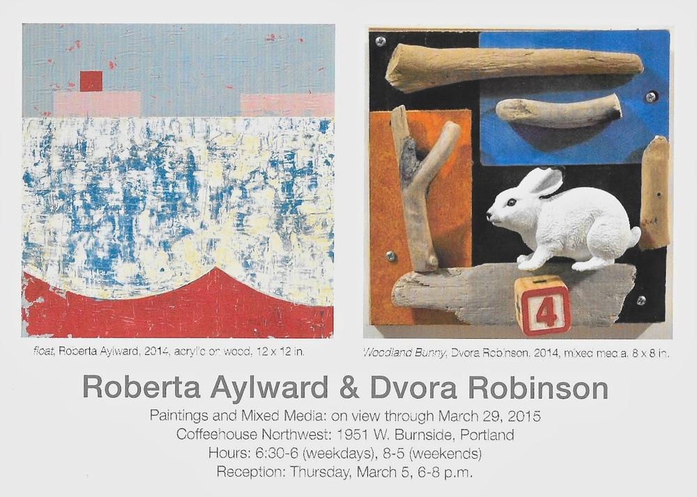 Aylward-Robinson showcard Coffeehouse Northwest