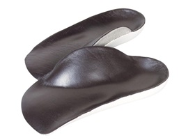 These are awesome for shoes and boots, but once you wear them you will never go back. So plan on taking them with you anytime you go shoe shopping to make sure they fit into your new shoes.   http://www.alimed.com/cavus-foot-high-arch-half-soles.html