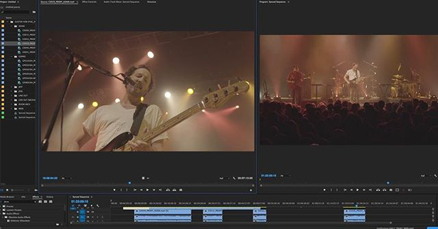 Cutting up some live videos. . . . . #portland #portlandmaine #maine #207 #madeinmaine #buylocal #madeinnewengland #boston #providence #newengland #newyork #videoproduction #crashboombangmedia  #teamboombang #creativeagency #vhs #vintage #guster #promovideo #livemusic #musicvideo
