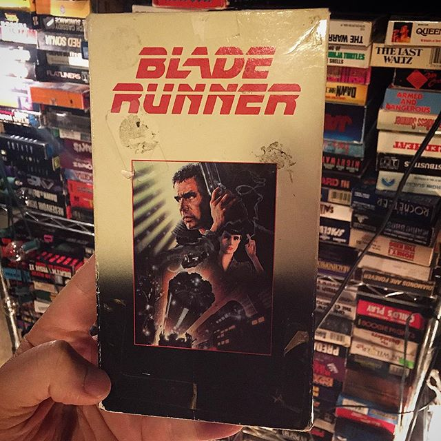 Does #rutgerhauer dream of electric sheep? I dunno. #HBD Roy Batty #bladerunner . . . #portland #portlandmaine #maine #207 #madeinmaine #buylocal #madeinnewengland #boston #providence #newengland #newyork #videoproduction #crashboombangmedia  #teamboombang #creativeagency #vhs #vintage #tape
