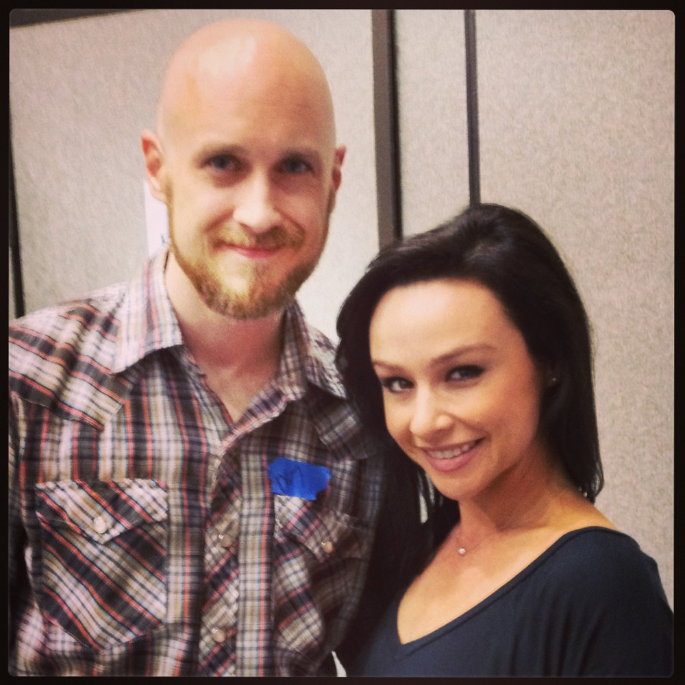 Leo Francis with Danielle Harris