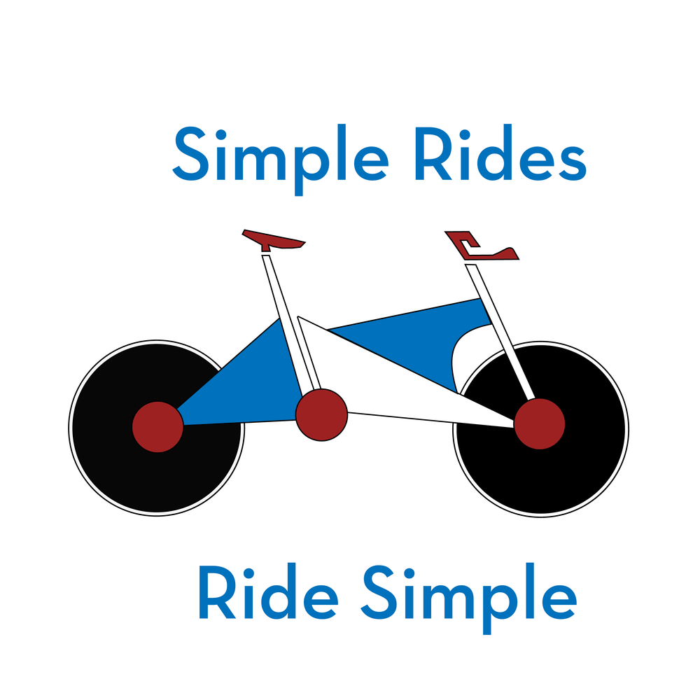Design a concept bicycle - Simple Rides bicycle have straight lines with visual color will insure you Ride Simple.Designed by Michael P. Taylor, Jr.