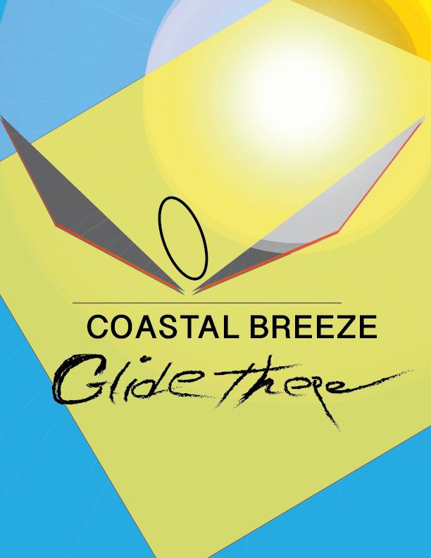 Coastal Breeze - A conceptual transportation company.Designed by Michael P. Taylor, Jr.