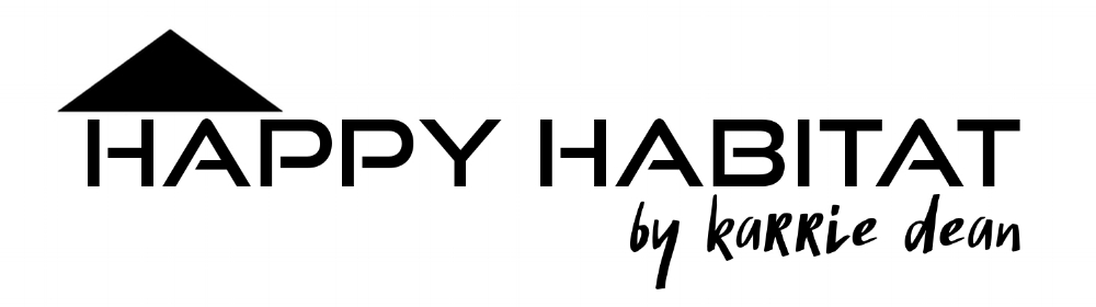 happy habitat by karrie dean