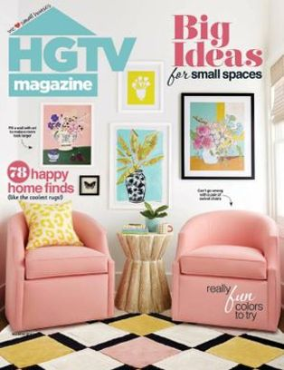 HGTV Magazine- March 2019