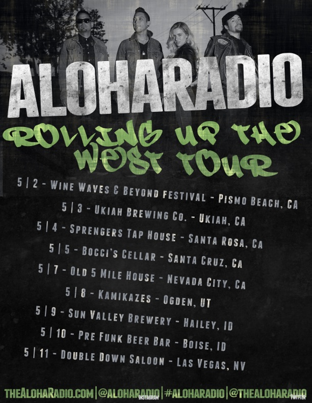 Aloha Radio's Rolling Up the West Tour New Boise Show Added