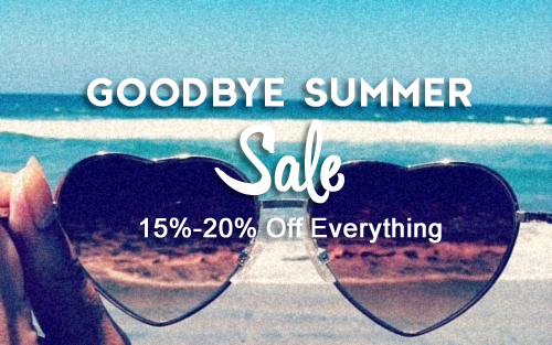 Goodbye Summer Sale  15%-20% off all Aloha Radio merchandise  SHOP NOW >>>>