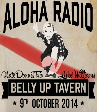 Aloha Radio to perform at Belly Up Oct. 9th