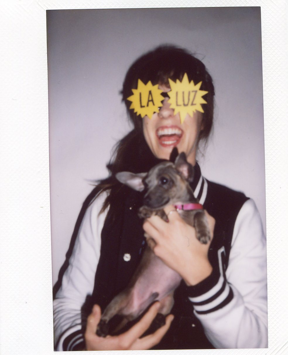 Allie from Peach Kelli Pop stopped by with her puppy Rudolph