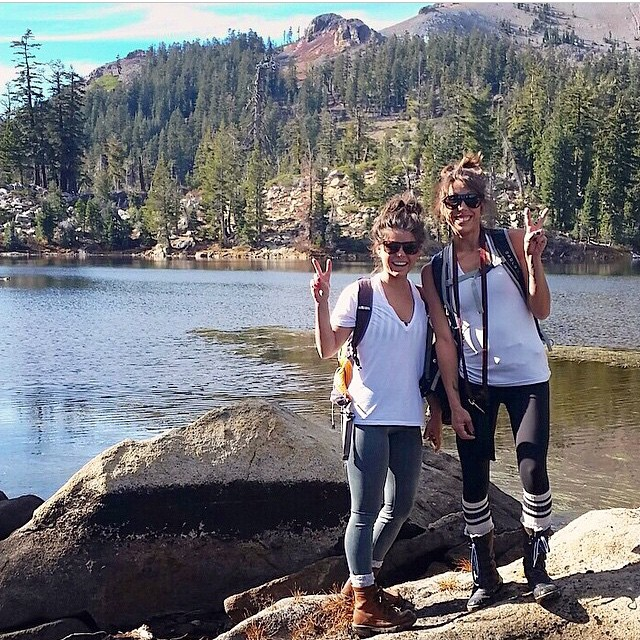 Babes in the backcountry. Stop in after your next adventure. Thanks for sharing the photo @cierra_nicolemarie
