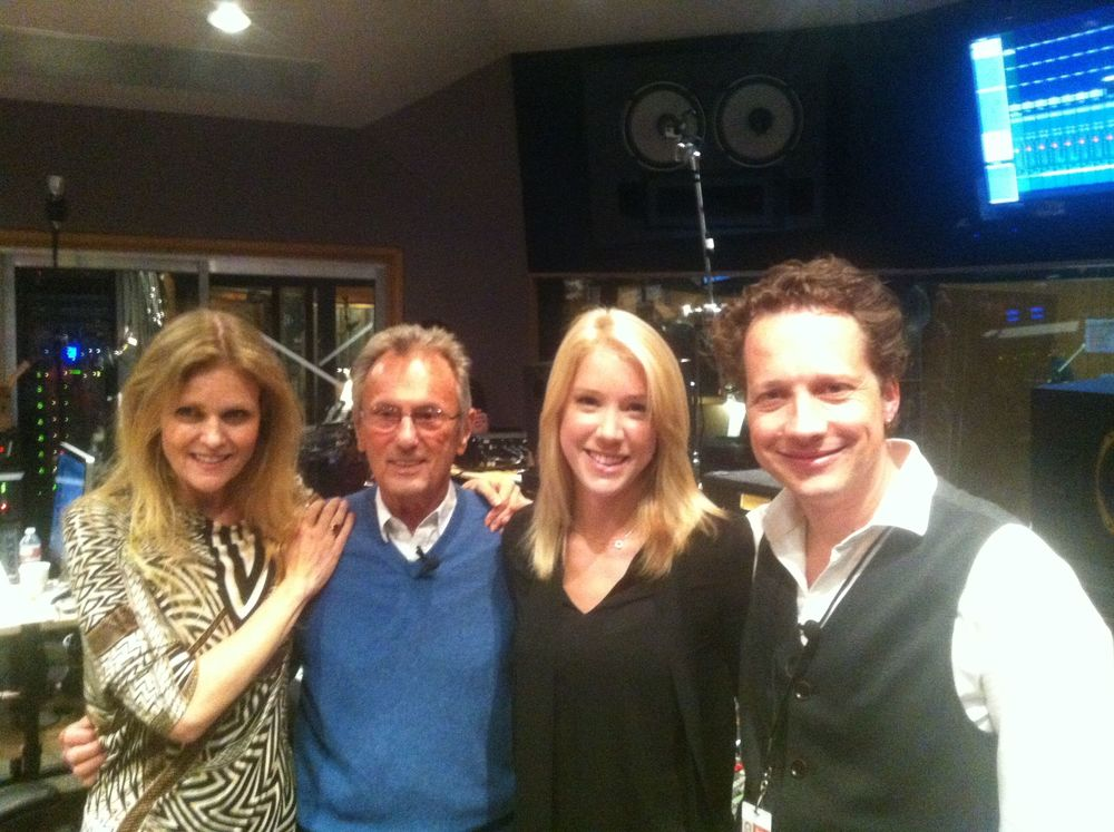 Tierney Sutton, Al Schmitt, Courtney Fortune, CW at Capitol Studios (2013)
