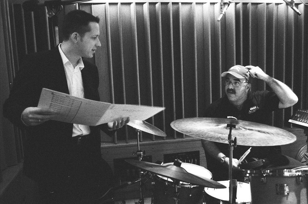 w/ Peter Erskine at Capitol Studios (2003)