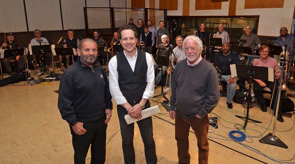 w/ Joe Pesci at United Recording (2015)