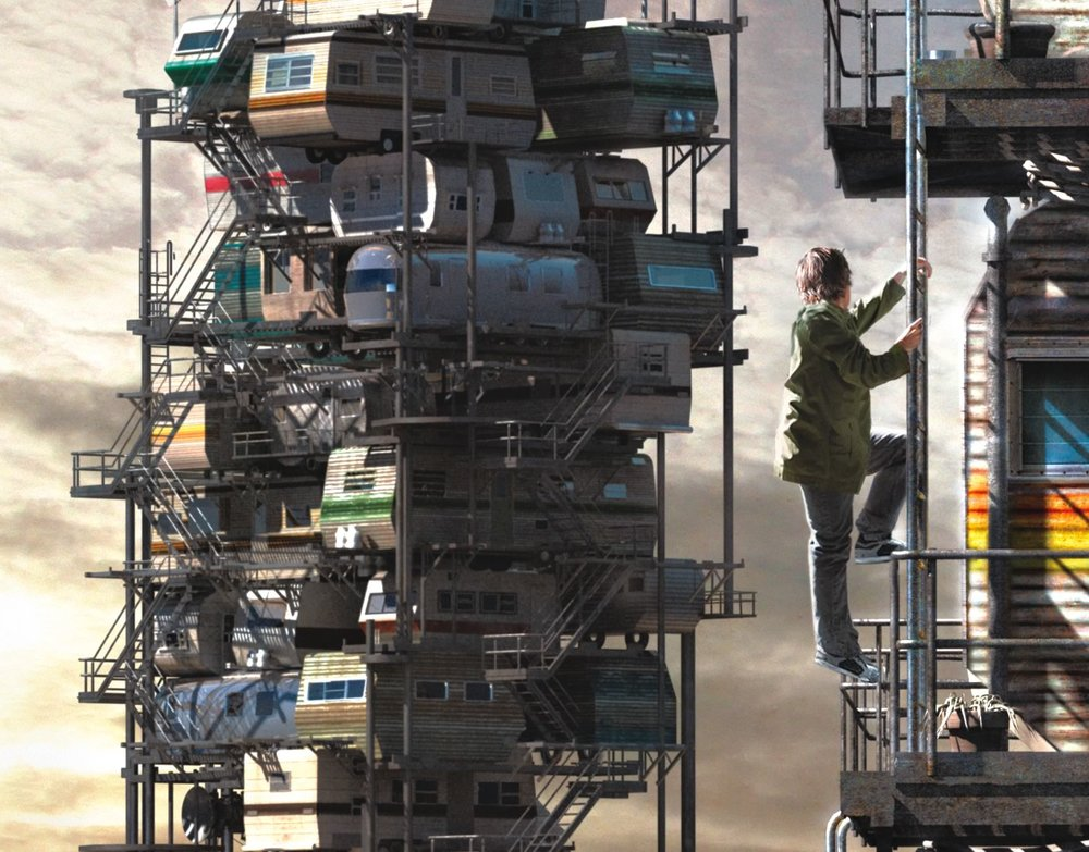 The cover of Ernest Cline's Ready Player One.