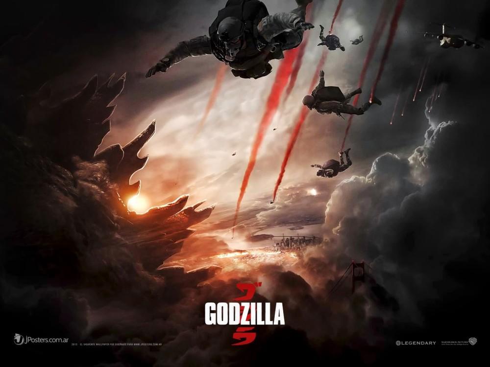 2014 Godzilla poster.
