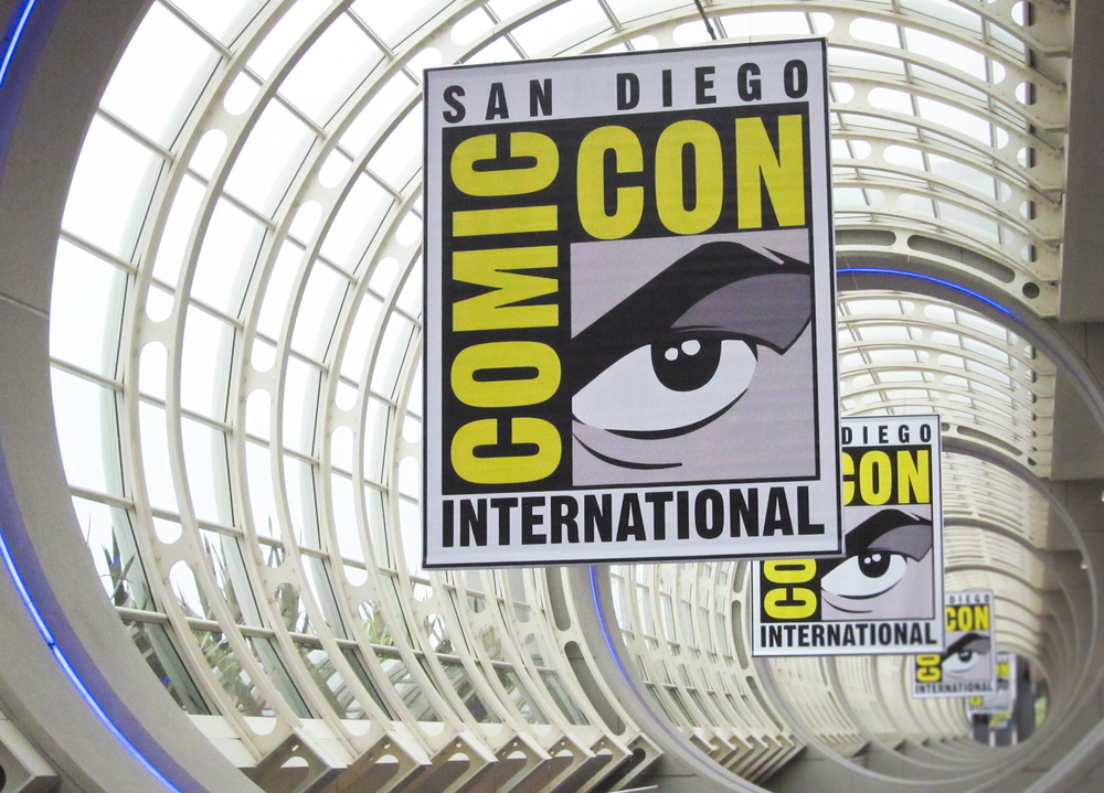 San Diego Comic Con banners