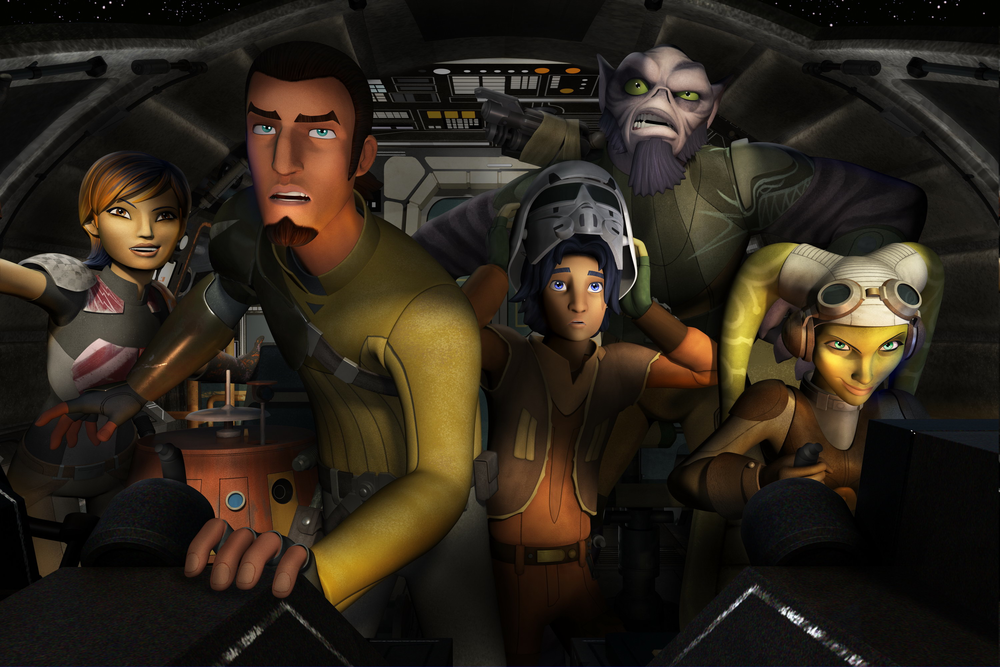 Star Wars: Rebels cast