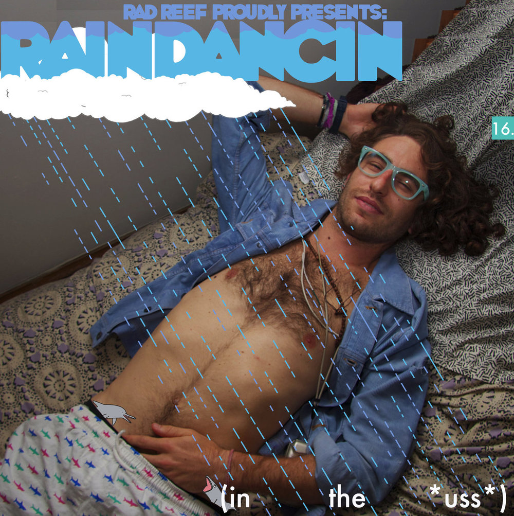 Raindancin in the *uss*, 2012. Artwork, beats, and raps by Zachg. File under: weird but fun internet rap. Release number 16 in 2012, and possibly the most well-received record in Zach's disocgraphy, it landed a spot on Spin's No Trivia weekly roundup. This record features guest appearances from Left Leberra, Supa, Nasty Nigel, and Western Tink.