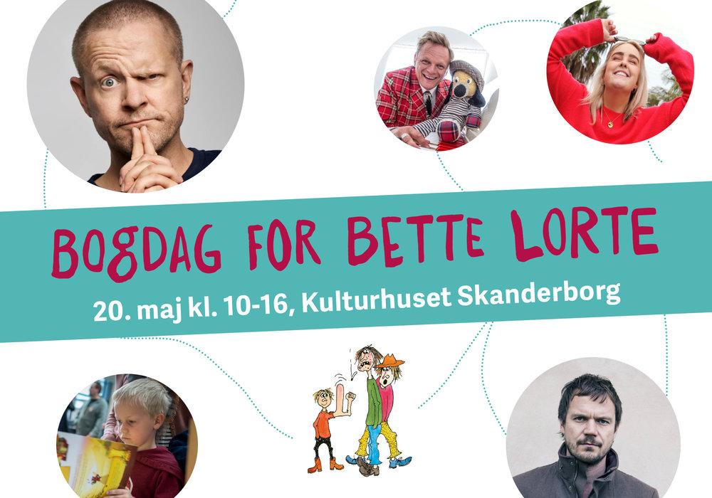 Sløngeldage Bogfestival (coming soon).