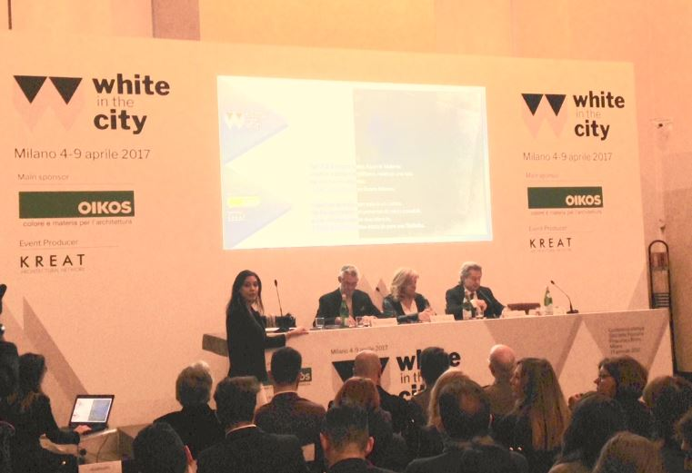 Conferenza stampa, White in the city, OIKOS