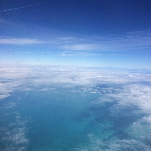 Between the clouds over The #Bahamas