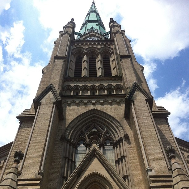 St James #toronto #nofilter