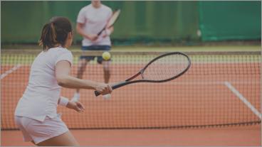 Tennis - Book baner og lektioner