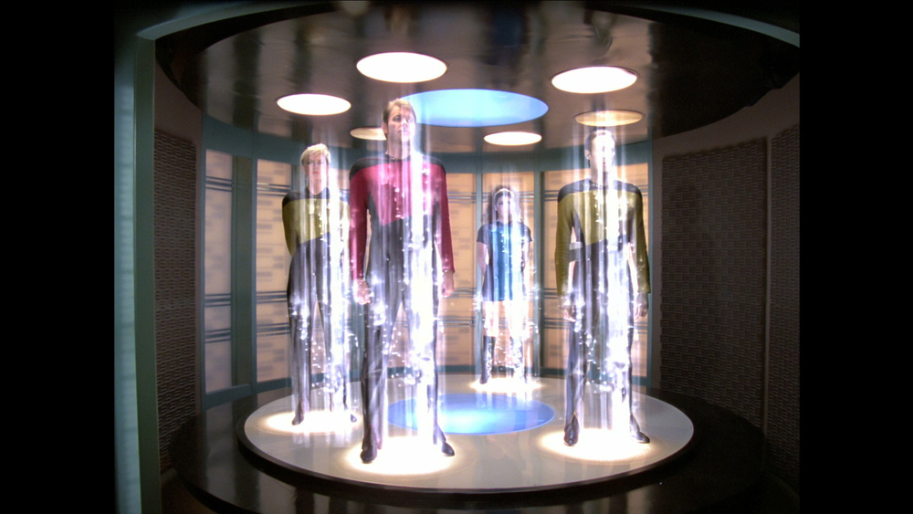 "Though it has become irrevocably associated with Star Trek, ""Beam me up, Scotty"" was never actually spoken in any Star Trek television episode or film. -Wikipedia"