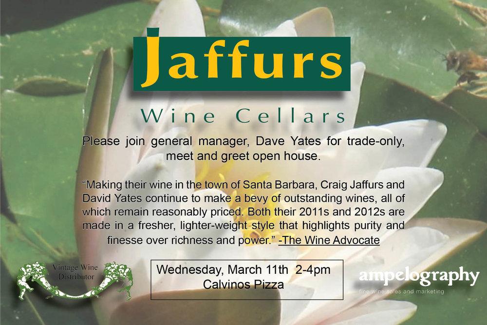 Jaffurs Trade Tasting