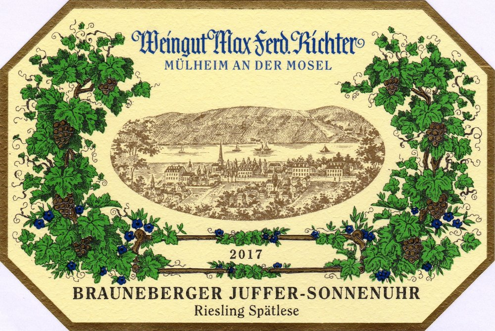 2017 Brauneberger Juffer-Sonnenuhr Spätlese.jpg