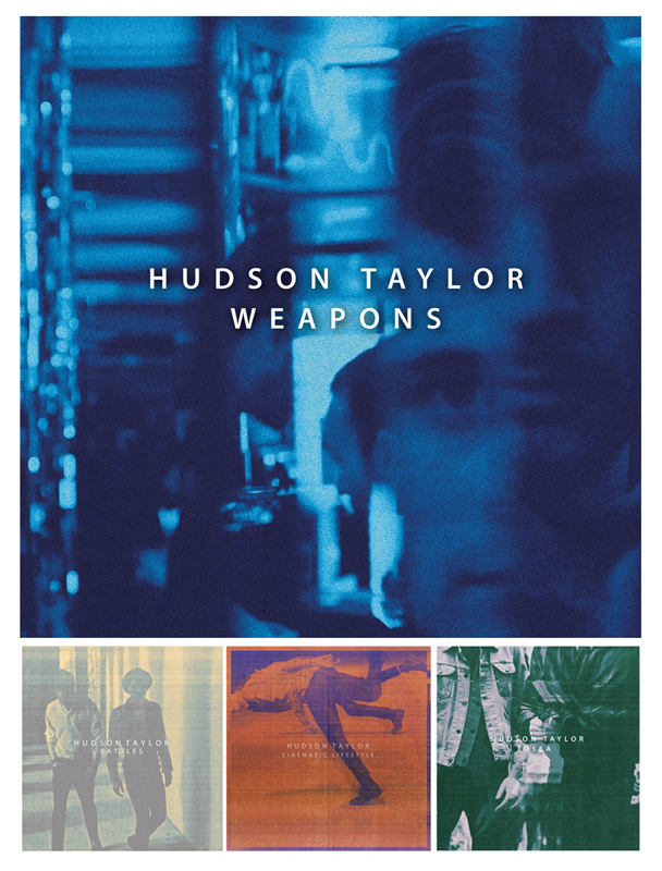 February 2014: Completed my fourth collaboration with the boys from Hudson Taylor for their first single Weapons.  Available to pre-order now.
