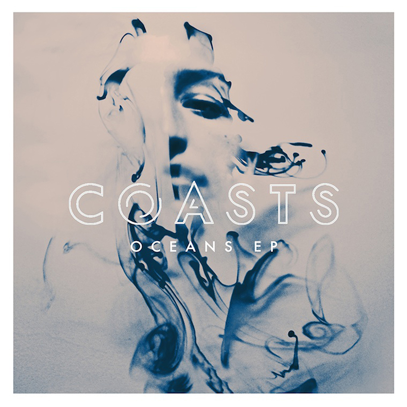 June 2014: COASTS release their new Oceans EP featuring artwork made my me back last year in Portland.