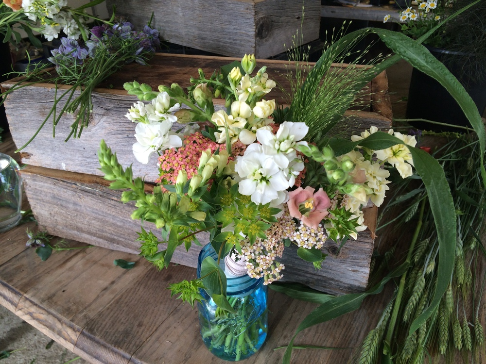 Bouquet with July blooms.