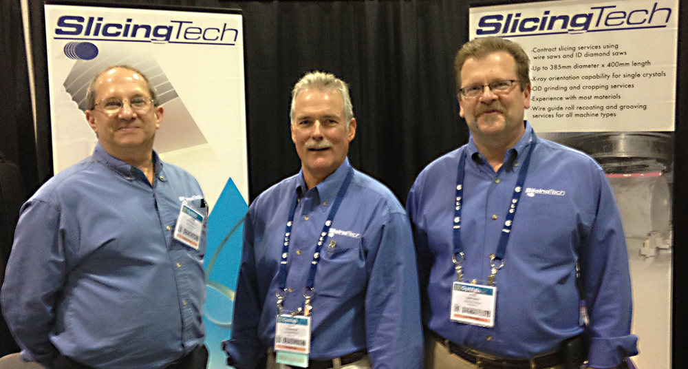 (Left to right)  John Streisguth, Product Manager  Keith Robinson, President/CEO  Mike Hartman, General Manager