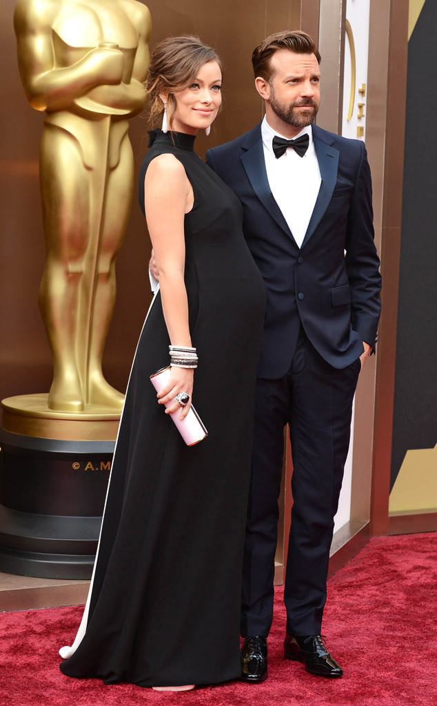 olivia wilde was a close close second for me, she rocked the baby bump look in her valentino dress! simple yet stunning! loved it!