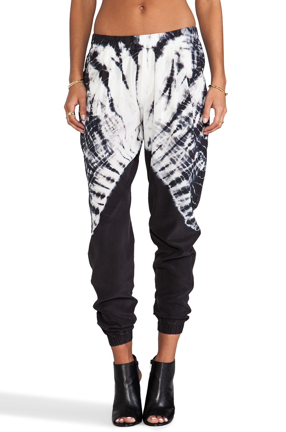 these pants from revolve clothing are a little similar to the harem pants from free people and now that i look at both, i can't really decide which to buy! i'm obviously not going to have two similar tie dye pants so i have to pick. help!!! comment below and let me know which ones i should purchase.