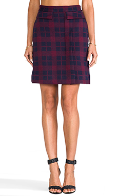 don't you just love plaid? i love this skirt from revolve clothing, this is currently in my saved cart! i wouldn't pair it with black heels, maybe a brown chunky shoe or oxfords!