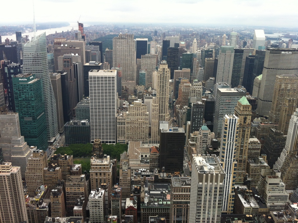 the view from the empire state building, how gorgeous is that?