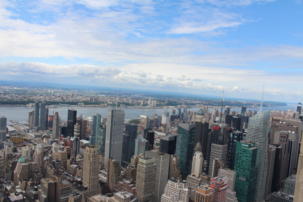 the view from the empire state building!