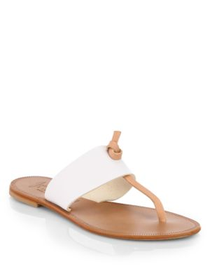 Joie Nice Bicolor Leather Sandals