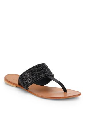 Joie Nice Jeweled Thong Sandals