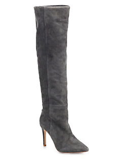 Joie Olivia Suede Knee-High Boots
