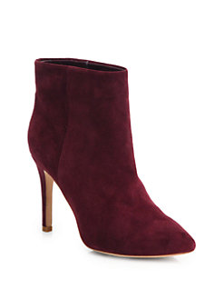 Joie Lina Suede Ankle Boots