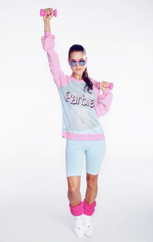 Barbie Warm Up Sweater