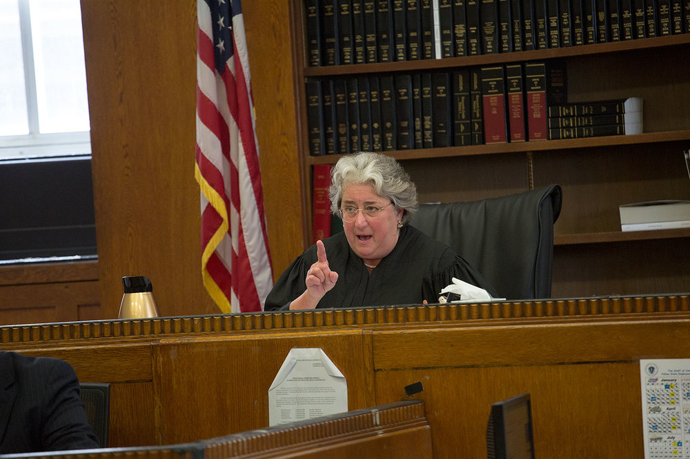 Suffolk Superior Court Judge Carol S. Ball