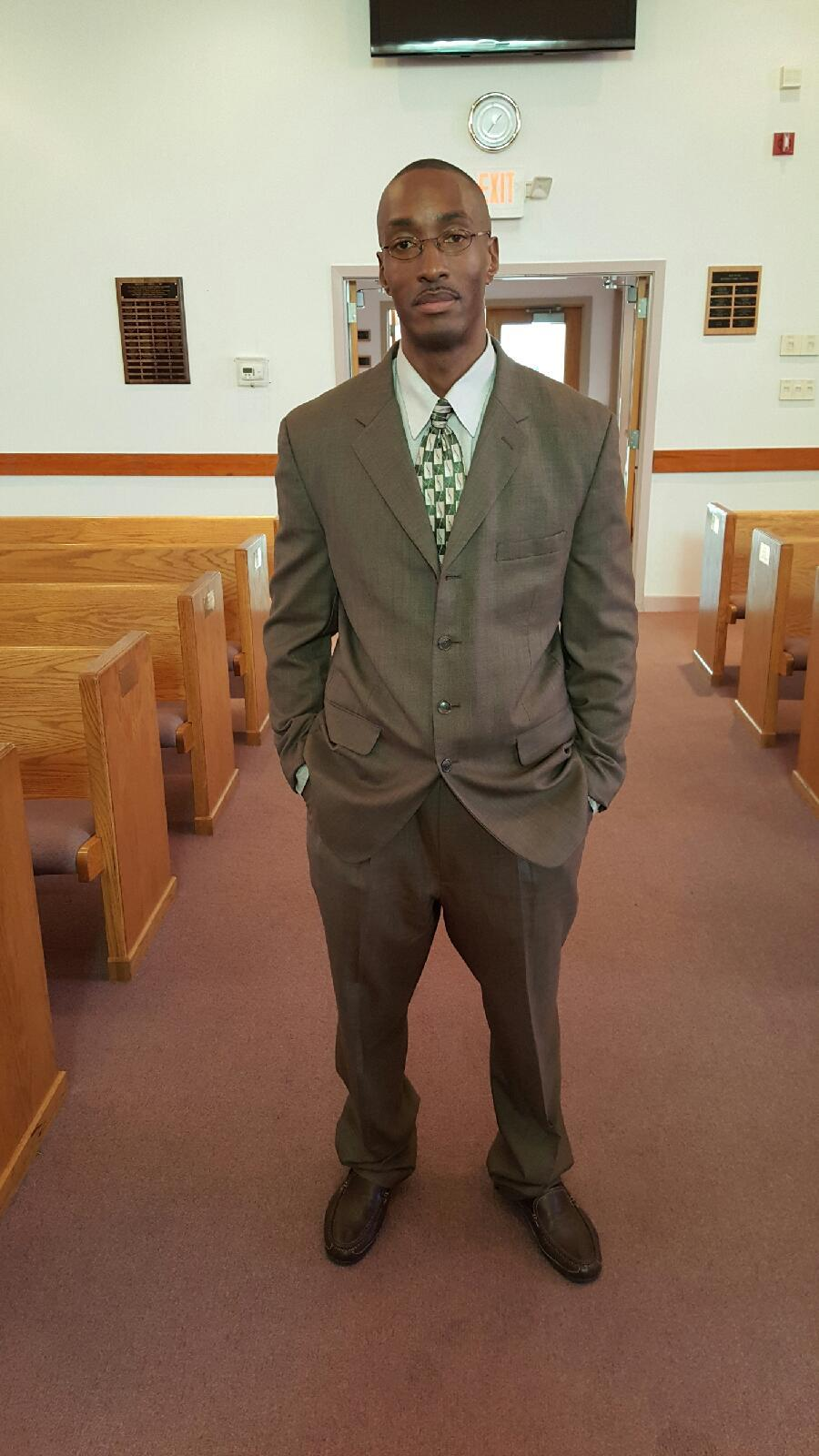 After having his convictions overturned on May 5, 2015, and being freed on bail on June 3, Sean Ellis attended church -- a free man.