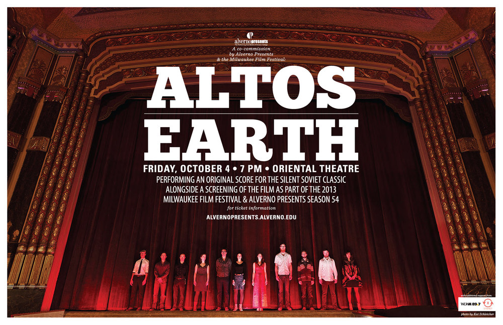 The Group of The Altos for Alverno Presents and The Milwaukee Film Festival