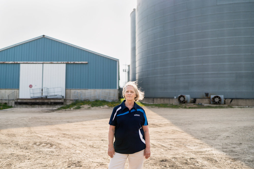 Nancy, Agricultural Coop Manager // 23.8% of Farmers, Ranchers, and Other Agricultural Managers are Women